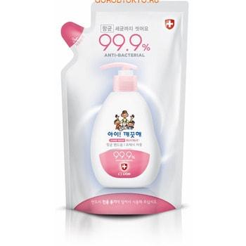 CJ LION «Ai - Kekute» Жидкое мыло для рук «Свежий грейпфрут», с антибактериальным эффектом, запасной блок, 200 мл.