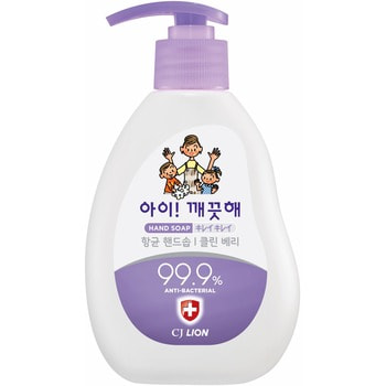 CJ LION «Ai - Kekute» Жидкое мыло для рук «Сочная ягода», с антибактериальным эффектом, 250 мл.
