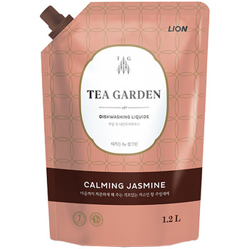 "CJ Lion ""Chamgreen Tea Garden"" Средство для мытья посуды ""Жасмин"", мягкая упаковка, 1250 г."