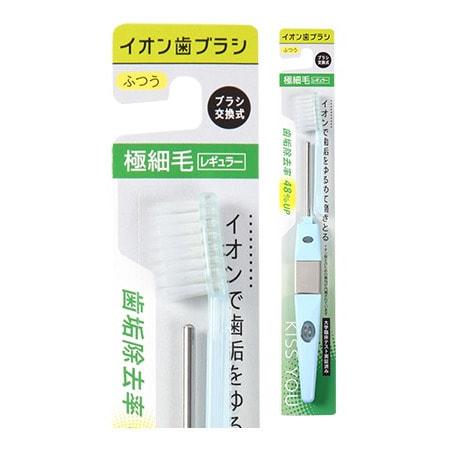 Hukuba Dental Ионная зубная щётка классическая, средней жёсткости, ручка + 1 головка.
