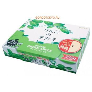 DIAX «Super Apple - Green Apple» Гелевый ароматизатор-поглотитель для установки под сиденье автомобиля, зелёного яблока, 200 г.