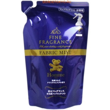 NISSAN «FaFa Fine Fragrance - Homme» Кондиционер-спрей для тканей, с утонченным ароматом, мягкая упаковка, 230 мл.