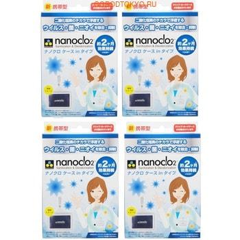 """Protex """"Nanoclo2"""" Блокатор вирусов для индивидуальной защиты, карта с чехлом, 4 коробки. (фото)"""