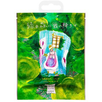 Charley «Bathroom» Соль-саше для ванн «В зелёном лесу», с ароматом лесных деревьев, 30 г. (фото)