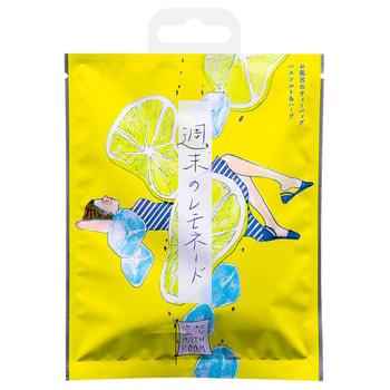 Charley «Bathroom» Соль-саше для ванн «Расслабляющий лимонад», с ароматом лимона и мёда, 30 г.