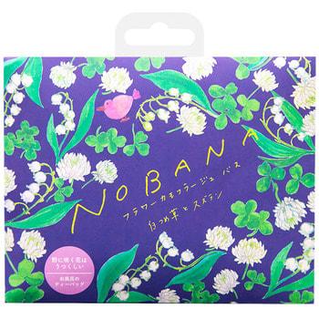 """Charley """"Nobana"""" Соль-саше для ванн увлажняющая """"Белый клевер и лилия"""", с ароматом цветущих лилий, 30 г. (фото)"""