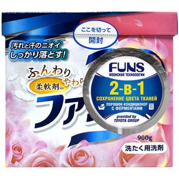 """Daiichi """"Funs"""" Стиральный порошок концентрированный 2-в-1 с кондиционирующим эффектом, 900 г. (фото)"""