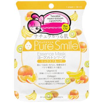 """Sun Smile """"Yougurt"""" Маска для лица на йогуртовой основе, с фруктами, 1 шт. (фото)"""