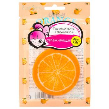 SUN SMILE «Juicy» Патчи, увлажняющие кожу, с апельсином, 10 шт. (фото)