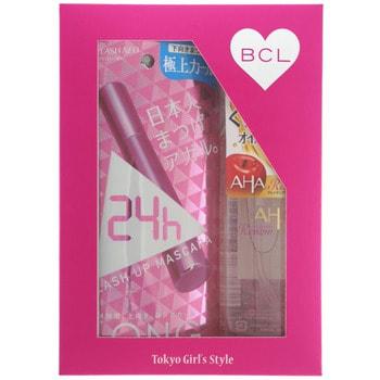 """BCL Подарочный набор """"Пушистые ресницы"""": тушь для ресниц (удлинение + подкручивание) + очищающее и увлажняющее масло для снятия макияжа, 145 мл. (фото)"""