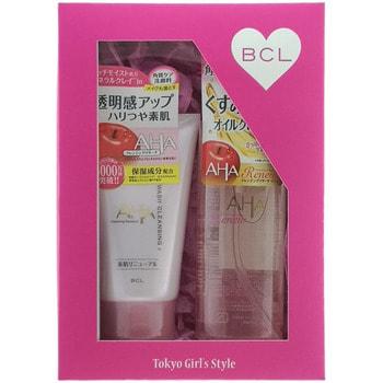 """BCL """"Cleansing Research"""" Подарочный набор """"Двойное очищение"""": очищающее и увлажняющее масло для снятия макияжа, 145 мл + пена-скраб для лица, 120 г. (фото)"""