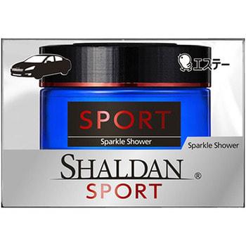 "ST ""Shaldan Sparkle Shower"" Гелевый ароматизатор для салона автомобиля, с ароматом искрящихся брызг, 39 мл."