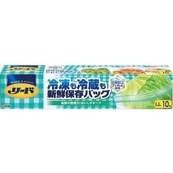 """Lion """"Reed"""" Пакет с двойной молнией для длительного хранения и замораживания продуктов и готовых блюд в холодильнике / морозильнике, размер LL (28х28 см), 10 шт."""