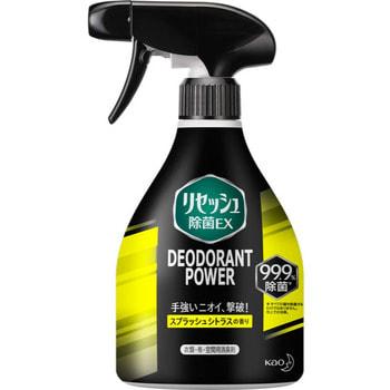 KAO «Resesh EX Plus» Суперэффективный дезодорант-нейтрализатор неприятных запахов для спортивной и рабочей одежды, с цитрусовым ароматом, 360 мл.