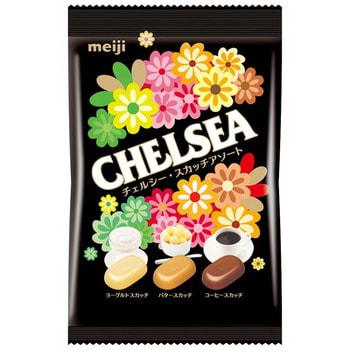 """Meiji """"Chelsea"""" Ириски со сливками и йогуртом, мягкая упаковка, 93 гр."""