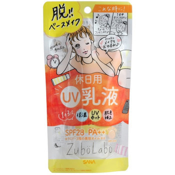 SANA «Zubolabo Day Emulsion» Солнцезащитная увлажняющая эмульсия-молочко для лица, SPF 28 PA++, 60 г. (фото)