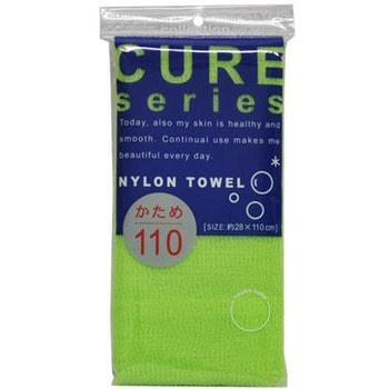 Ohe Corporation «Cure Nylon Towel» (Regular) / Мочалка массажная жесткая, 28 см. на 110 см. (фото)