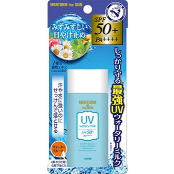OMI BROTHER «Menturm the Sun» Увлажняющее солнцезащитное молочко для лица и тела, с семью растительными экстрактами, SPF50+ PA++++, 35 г.