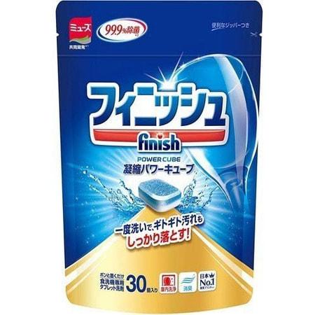 EARTH BIOCHEMICAL «Finish» Таблетки для посудомоечных машин, 30 шт.