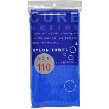 """Ohe Corporation """"Cure Nylon Towel"""" (Regular) Мочалка массажная жесткая, 28 см. на 110 см. (фото)"""
