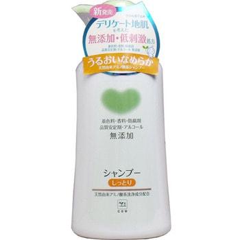 COW «Mutenka» Шампунь для волос «Увлажнение», с натуральными ингредиентами, без добавок, 550 мл.