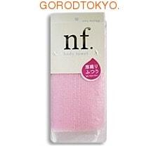 Ohe Corporation Массажная мочалка средней жёсткости, розовая, 20 см. на 100 см. от GorodTokyo