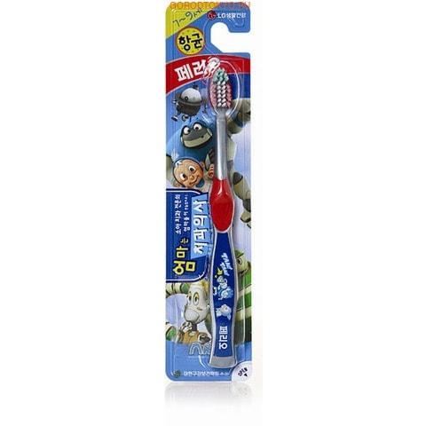 """LG Зубная щетка """"Perioe Kids - VROOMies"""" с мягкой щетиной для детей, 7-9 лет."""