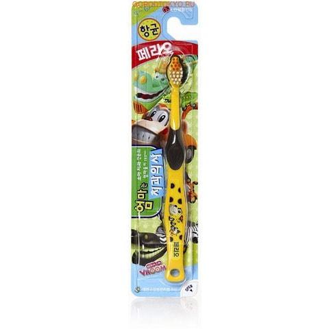 """LG Зубная щетка """"Perioe Kids - VROOMies"""" с мягкой щетиной, для детей от 5 до 6 лет."""