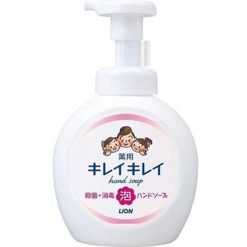 """LION """"KireiKirei"""" Мыло-пенка для рук с маслом лимона с фруктово-цитрусовым ароматом, 500 мл."""