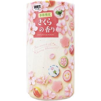 ST «SHOSHURIKI - Сакура» Жидкий ароматизатор для туалета, 400 мл.