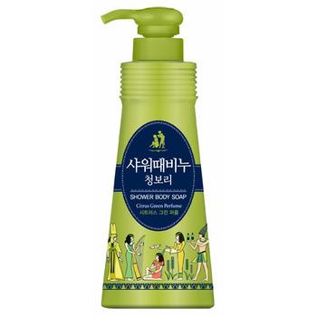 MUKUNGHWA Жидкое мыло для тела «Mukunghwa - Ароматерапия - Зеленый цитрус», 500 мл.