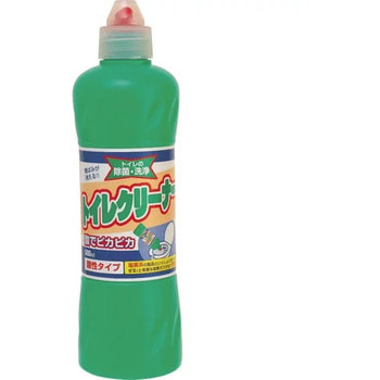 Mitsuei Чистящее средство для унитаза с соляной кислотой, 500 мл.Для туалета<br>Средство поддержит гигиену в вашем туалете. Густая консистенция геля, моментально растворит все загрязнения, обладает антибактериальным эффектом. Надолго дезинфицирует унитаз. Эффективно справляется с неприятным запахом.<br>