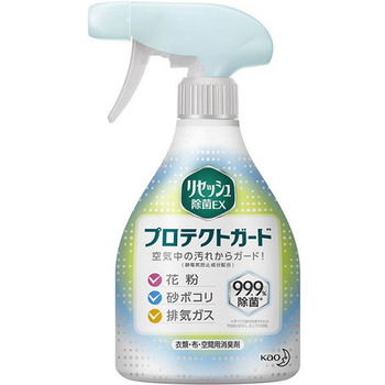 """KAO """"Resesh EX Protect Guard"""" Дезодорант-антистатик для одежды и текстиля с антибактериальным эффектом, без аромата, спрей, 360 мл."""
