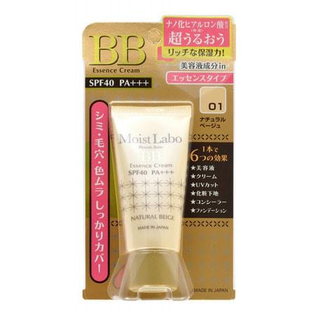 "Meishoku ""Moisture Essense Cream"" Увлажняющий тональный крем - эссенция (тон ""натуральный бежевый""), SPF 40 PA+++, 33 гр."