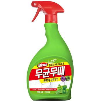 """Pigeon """"Bisol"""" Чистящее средство для ванной, от плесени, с ароматом трав, пульверизатор, 900 мл."""