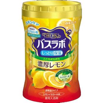 """Hakugen """"Hakugen Earth - Hers Bath Labo"""" Увлажняющая соль для ванны с восстанавливающим эффектом с гиалуроновой кислотой, с ароматом лимона, банка 640 гр."""
