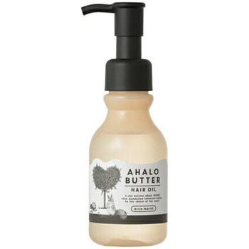 """Cosme Company """"Ahalo Butter Hair Oil Rich Moist"""" Масло для увлажнения, защиты и блеска волос, несмываемое, 95 мл."""