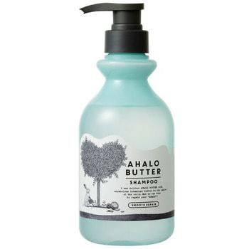 """Cosme Company """"Ahalo Butter Shampoo Smooth Repair"""" Восстанавливающий пенный шампунь для гладкости, блеска и здорового роста волос, без сульфатов и силикона, 500 мл."""