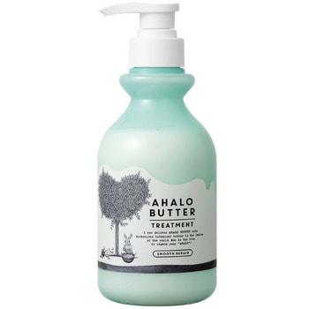 """Cosme Company """"Ahalo Butter Treatment Smooth Repair"""" Восстанавливающий бальзам-ополаскиватель для гладкости, блеска и здорового роста волос, без сульфатов, 500 мл."""
