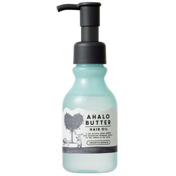 "Cosme Company ""Ahalo Butter Hair Oil Smooth Repair"" Масло для восстановления гладкости, блеска и здорового роста волос, несмываемое, 95 мл."