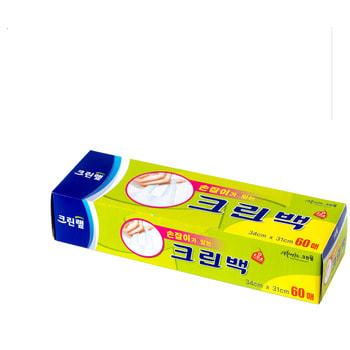 Clean Wrap Пакет-майка с ручками, в картонной коробке, 34*31 см, 60 шт.