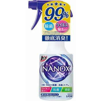 """Lion """"Top Nanox"""" Дезинфицирующий и дезодорирующий спрей для одежды и изделий из ткани, 350 мл. (фото)"""