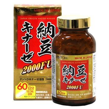 ITOH KANPO PHARMACEUTICAL Наттокиназа 2000FU, 180 капсул.