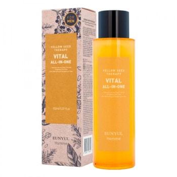 "Eunyul ""Yellow Seed Therapy Vital Homme All-In-One"" Многофункциональное витаминизирующее средство для ухода за кожей для мужчин, 150 мл. (фото)"