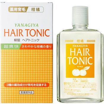 "Yanagiya ""Hair Tonic"" Тоник против выпадения волос, аромат ментола и цитруса, 240 мл."