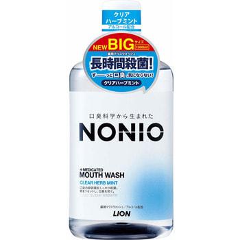 """Lion """"Nonio"""" Профилактический зубной ополаскиватель, аромат трав и мяты, 1000 мл."""