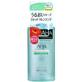 """BCL """"AHA"""" Очищающая сыворотка для снятия макияжа 2-в-1 с фруктовыми кислотами для нормальной и комбинированной кожи, 200 мл. (фото)"""