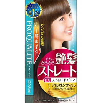 """Utena """"Proqualite EX"""" Система распрямления и восстановления кучерявых и вьющихся длинных волос, 1 уп."""