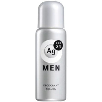"Shiseido ""Ag Deo24"" Мужской роликовый дезодорант-антиперспирант с ионами серебра без запаха, 60 мл."