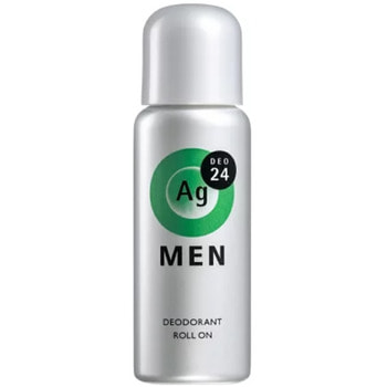 "Shiseido ""Ag Deo24"" Мужской роликовый дезодорант-антиперспирант с ионами серебра с ароматом цитрусо, 60 мл."